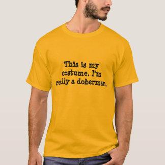 Doberman Costume. T-Shirt