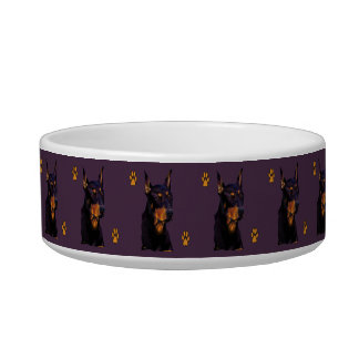 Doberman Dog Dish