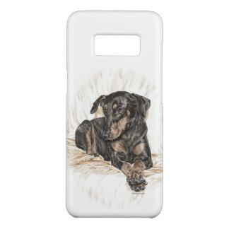 Doberman Dog Natural Ears Case-Mate Samsung Galaxy S8 Case