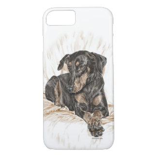 Doberman Dog Natural Ears for Keys iPhone 7 Case