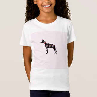 Doberman Dots Pattern T-Shirt
