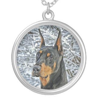 Doberman Fosty Day Necklace