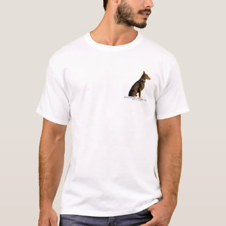 Doberman house Rules T-Shirt