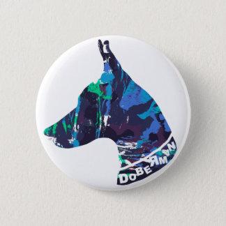 DOBERMAN Love 2 Inch Round Button