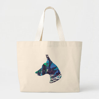 DOBERMAN Love Large Tote Bag