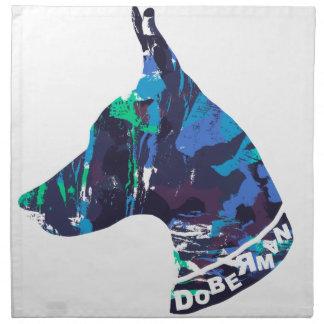 DOBERMAN Love Napkin
