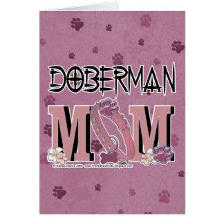 Doberman MOM Card