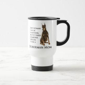 Doberman Mom Travel Mug