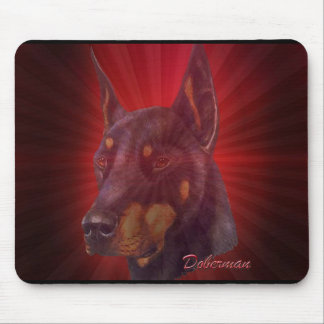 Doberman Mouse Pad