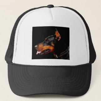 Doberman Pet Dog Trucker Hat