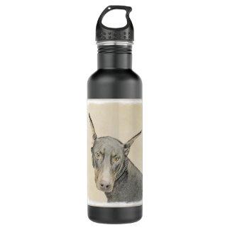 Doberman Pinscher 710 Ml Water Bottle