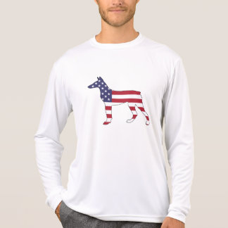 "doberman pinscher ""american flag"" T-Shirt"