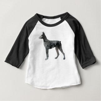 Doberman Pinscher Art Baby T-Shirt
