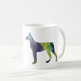Doberman Pinscher Art Coffee Mug