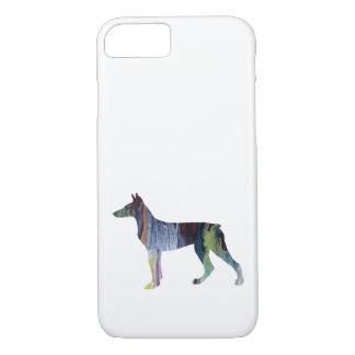 Doberman Pinscher Art iPhone 8/7 Case