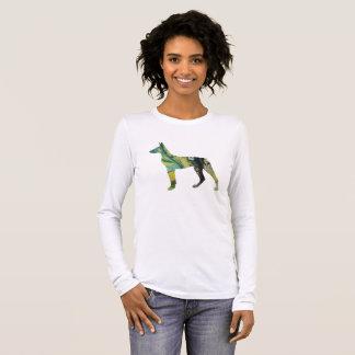 Doberman Pinscher Art Long Sleeve T-Shirt