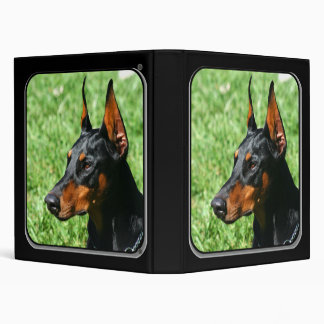 Doberman Pinscher Binder