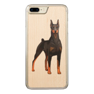 Doberman Pinscher Carved iPhone 8 Plus/7 Plus Case