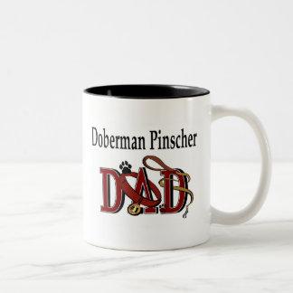 Doberman Pinscher Dad Mug