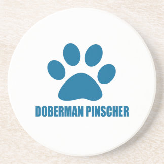 DOBERMAN PINSCHER DOG DESIGNS COASTER