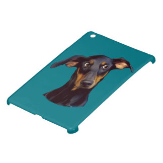 Doberman Pinscher Dog iPad Mini Cover