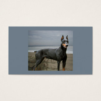Doberman Pinscher Dog Lover Business Card