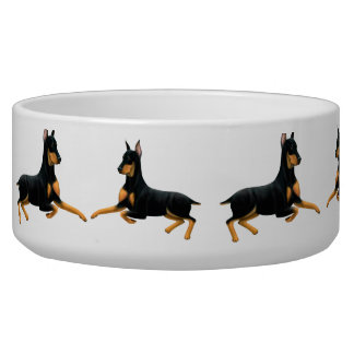 Doberman Pinscher Dog Pet Bowl