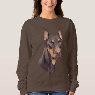 Doberman Pinscher Dog Sweatshirt