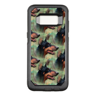 Doberman Pinscher in the Woods OtterBox Commuter Samsung Galaxy S8 Case