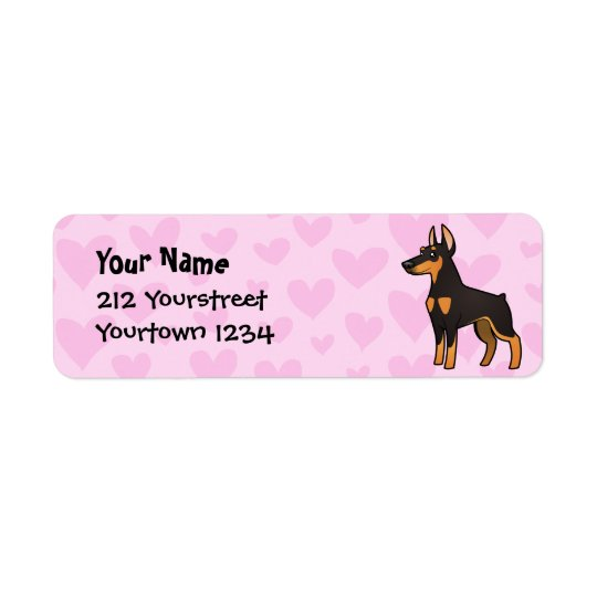 Doberman Pinscher Love (pointy ears)