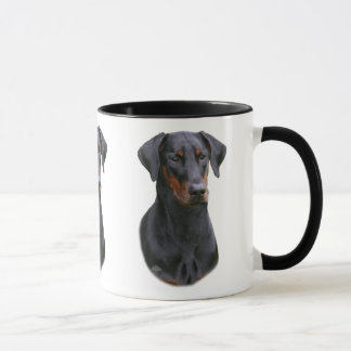 Doberman Pinscher- natural eared Mug