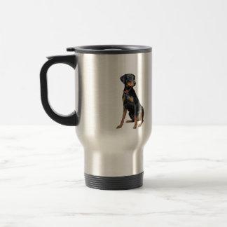 Doberman Pinscher (natural) Travel Mug