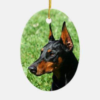 Doberman Pinscher ornament