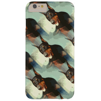 Doberman Pinscher Portrait Barely There iPhone 6 Plus Case