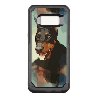 Doberman Pinscher Portrait OtterBox Commuter Samsung Galaxy S8 Case