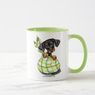 Doberman Pinscher Sack Puppy Mug