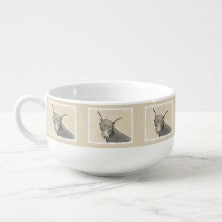 Doberman Pinscher Soup Mug