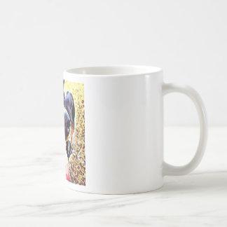 Doberman Pinscher Swirl Paint 1 Coffee Mug