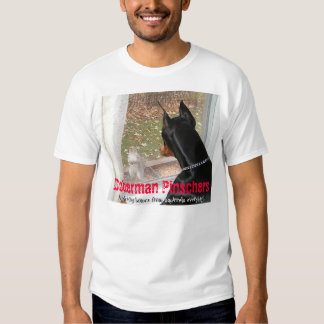 Doberman Pinschers Protecting Homes from Squirrels Shirt