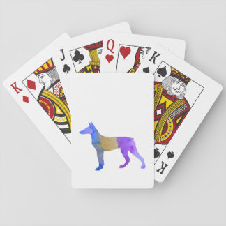 Doberman Playing Cards