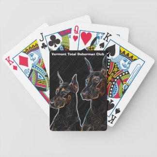 Doberman Playing Cards VTDC