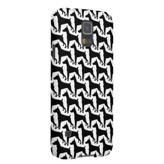 Doberman Silhouette gifts Case For Galaxy S5