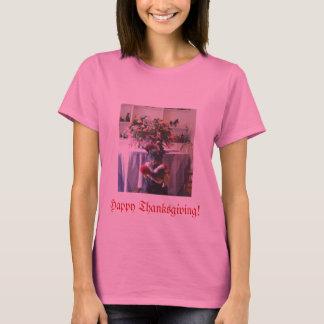 Doberman Thanksgiving Tshirt