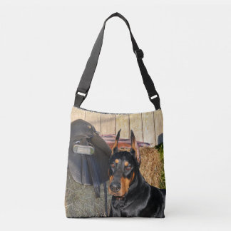 "Doberman ""The Guardian"" Tote Bag"