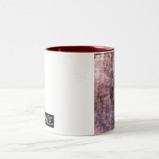 Doberman Two-Tone Coffee Mug