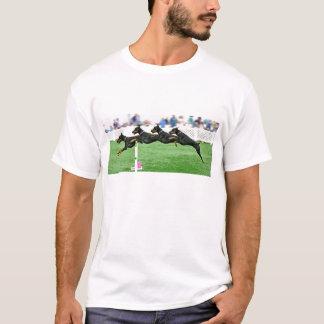 Dobermann Agility jump composite T-Shirt