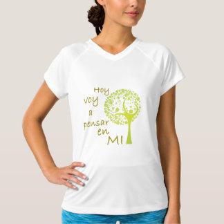 Doble seco de capacitación para mujeres V-Neck T-S T-Shirt