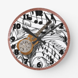 DOBRO-CLOCK ROUND CLOCK