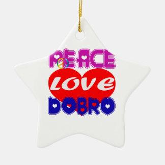 Dobro d amour de paix ornements