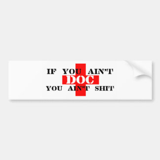 DOC BUMPER STICKER